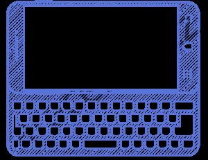 Mobilní telefon s vysunovací qwerty klávesnicí
