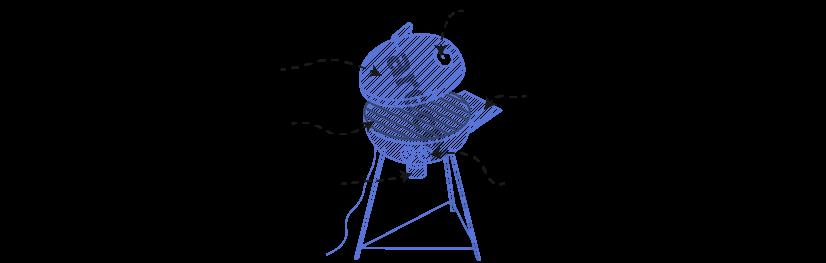 Popis konstrukce a jednotlivých částí vybavení grilu