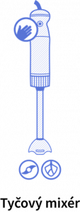 Tyčový mixér a jeho funkcie