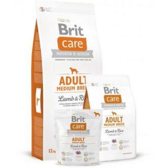 Recenze Brit Care Adult Medium Breed Lamb & Rice