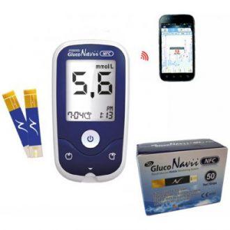 Recenze SD Diagnostics Glukometer SD-GlucoNavii NFC + 50 prúžkov